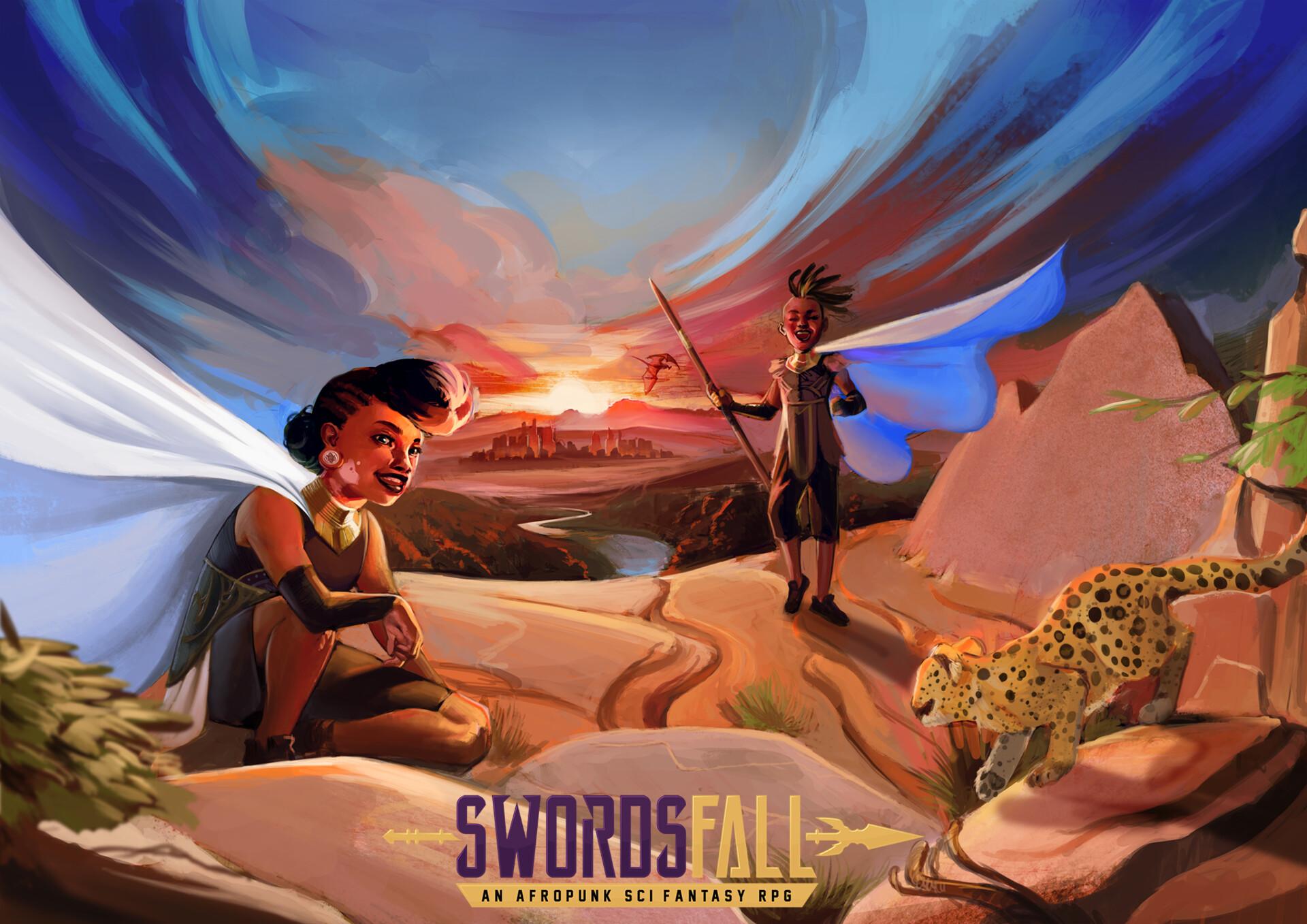 Tumo mere promo art swordsfall logo