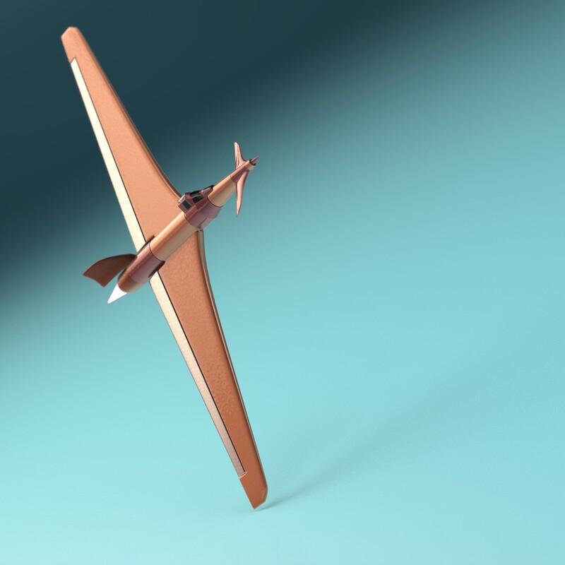 Experimental Toy Plane
