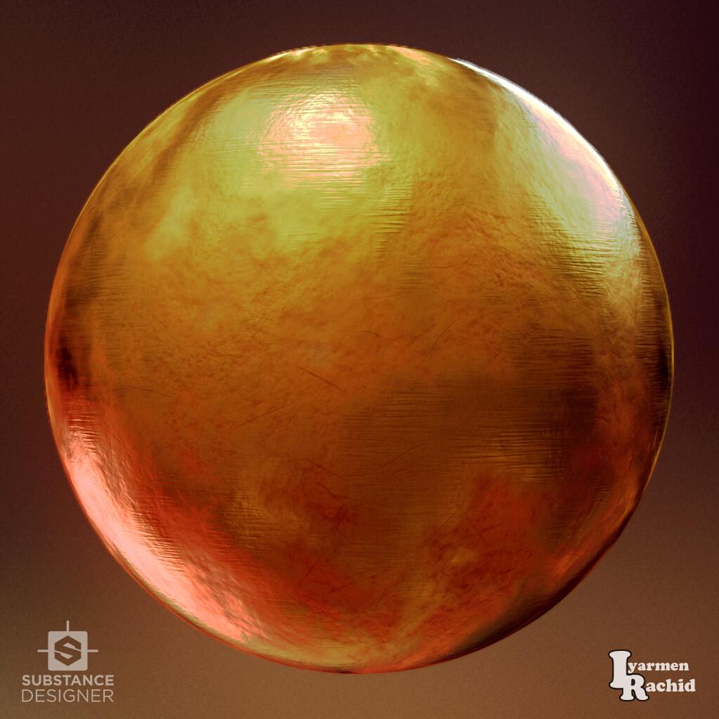 Rachid iyarmen sphere render