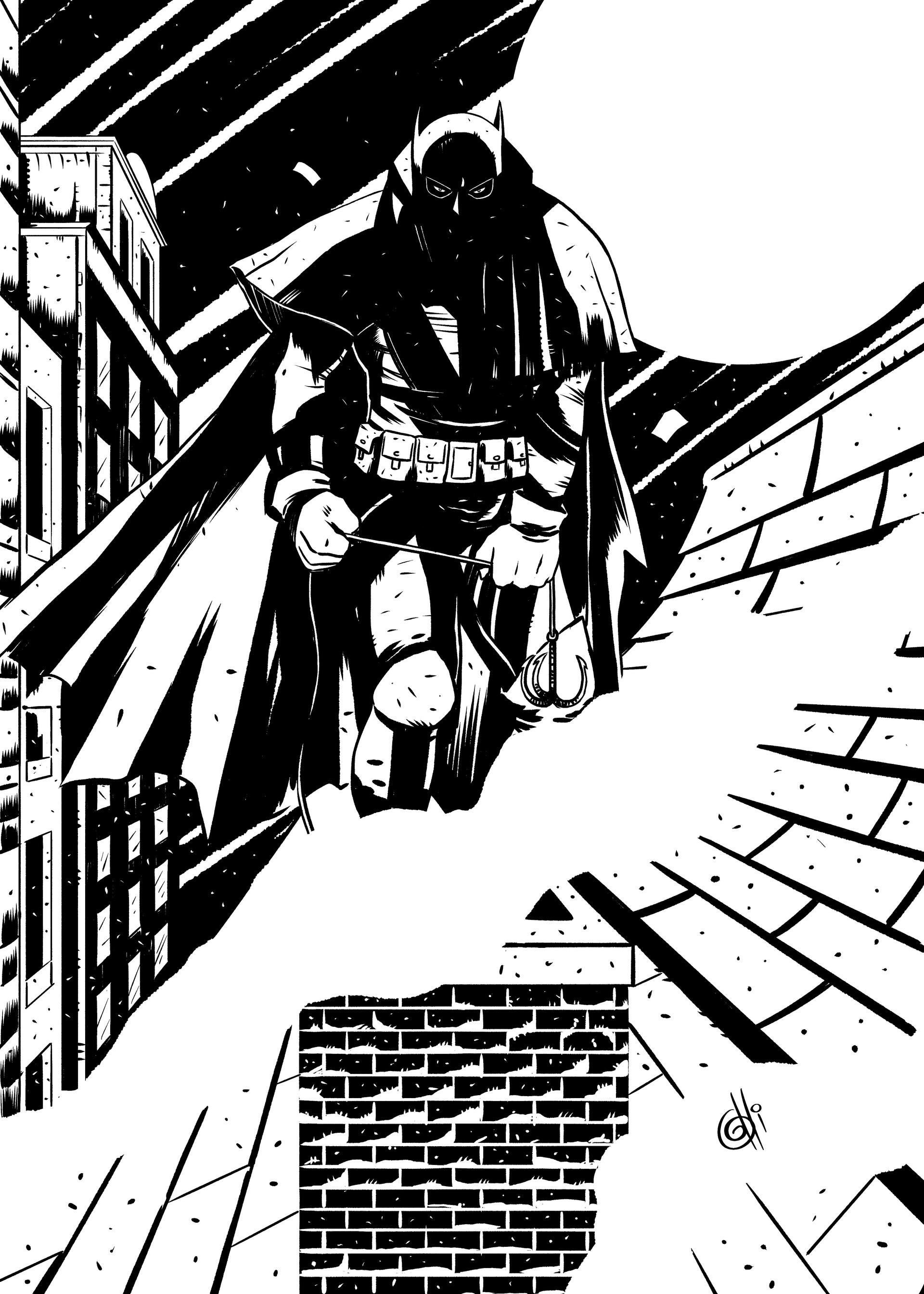 Artstation Batman Gotham By Gaslight Carlos Gritti Jr
