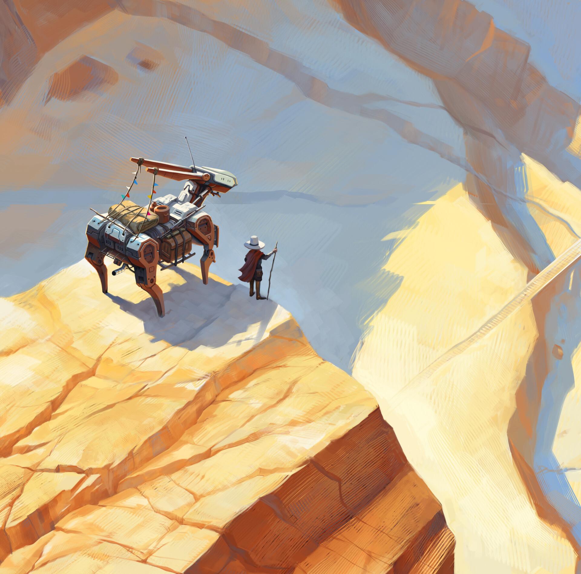 Daniel bayona cliff detail