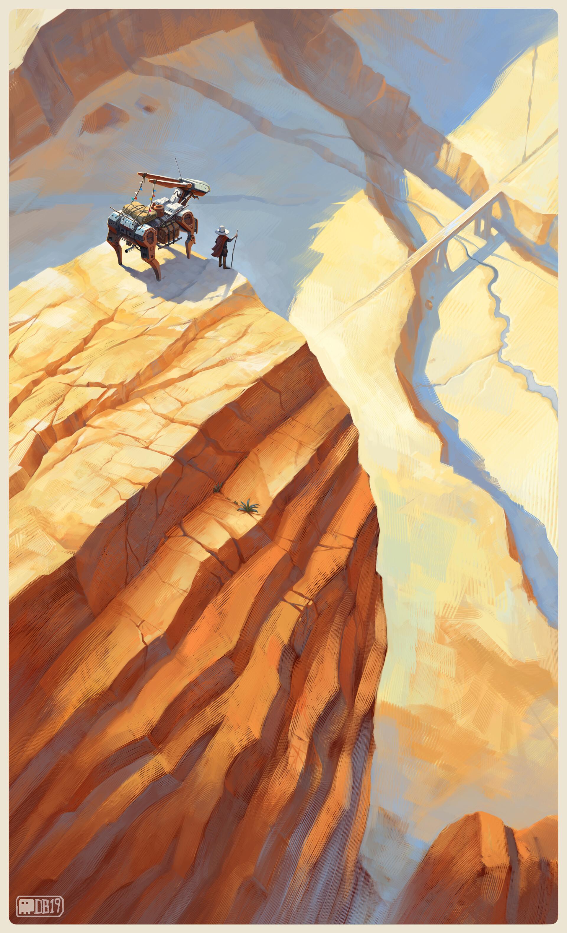 Daniel bayona cliff copy