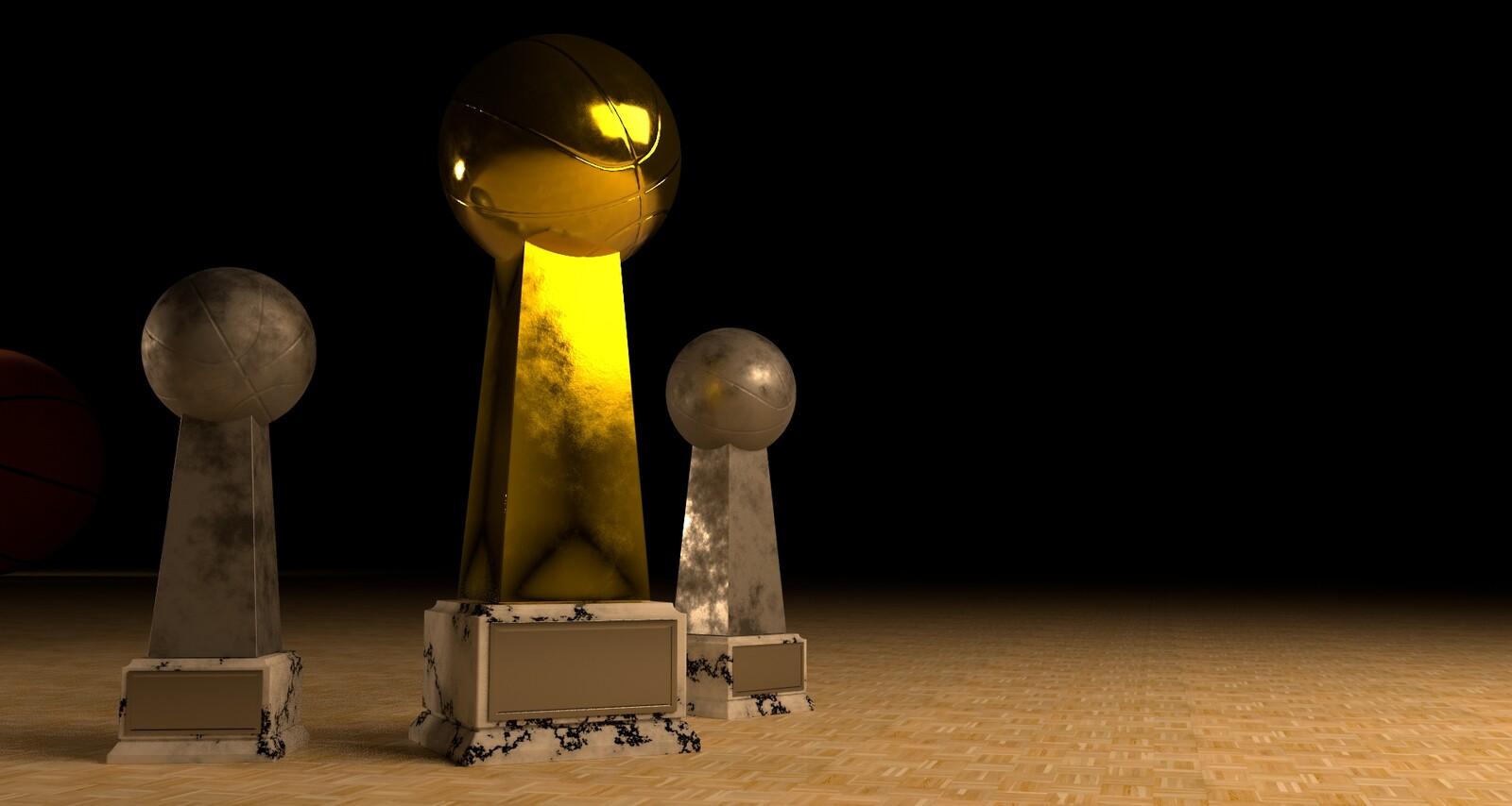 Trophy Scene