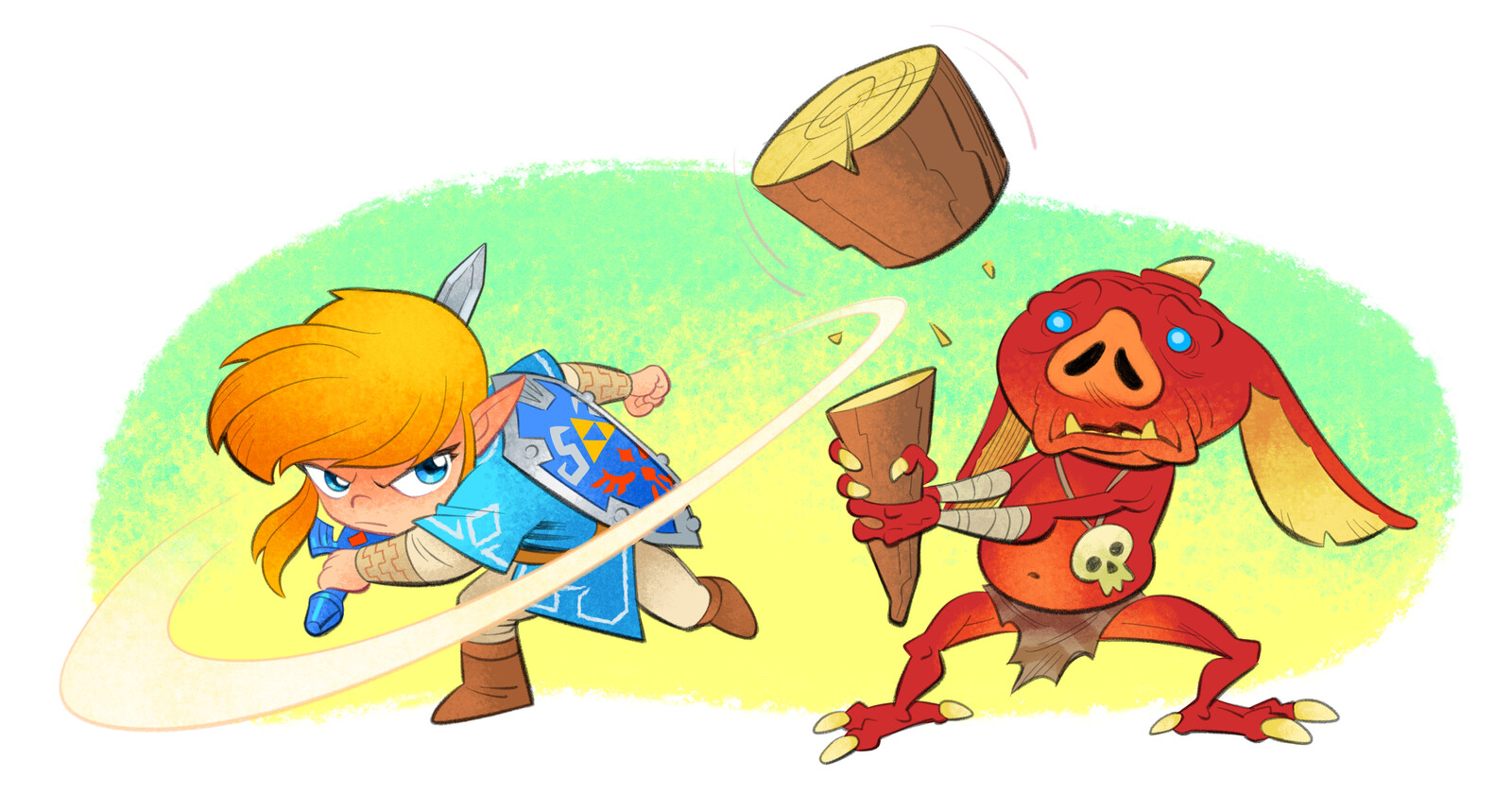 Legend of Zelda: Link vs. Bokoblin