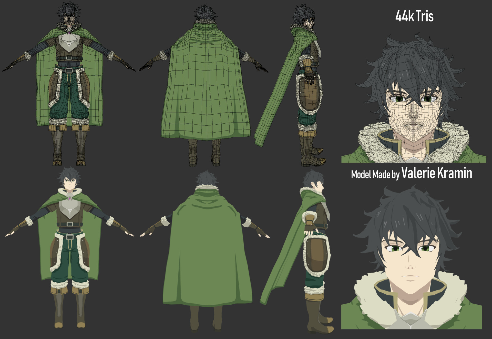 ArtStation - Shield Hero - Naofumi, Valerie Kramin