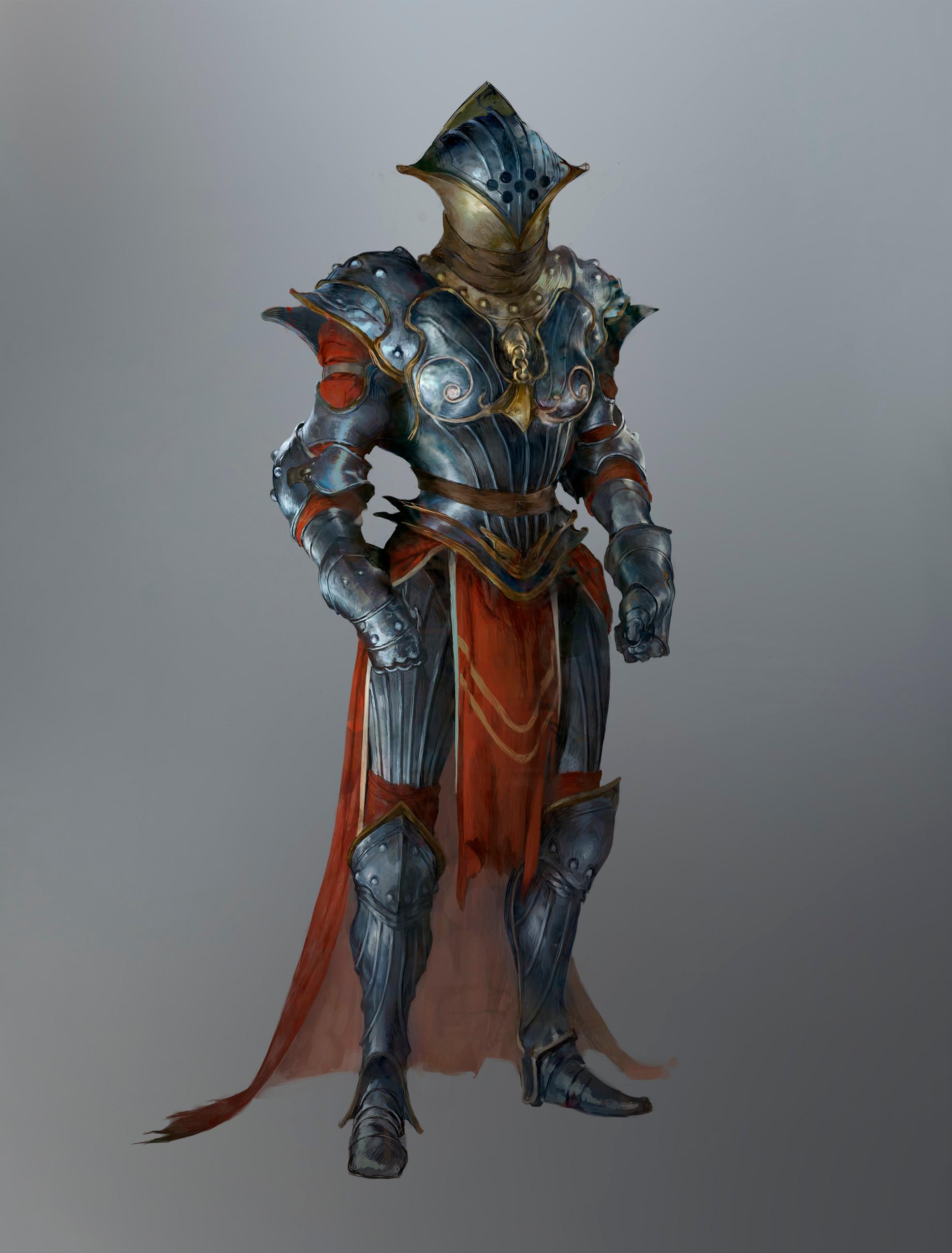 Templar armor concept