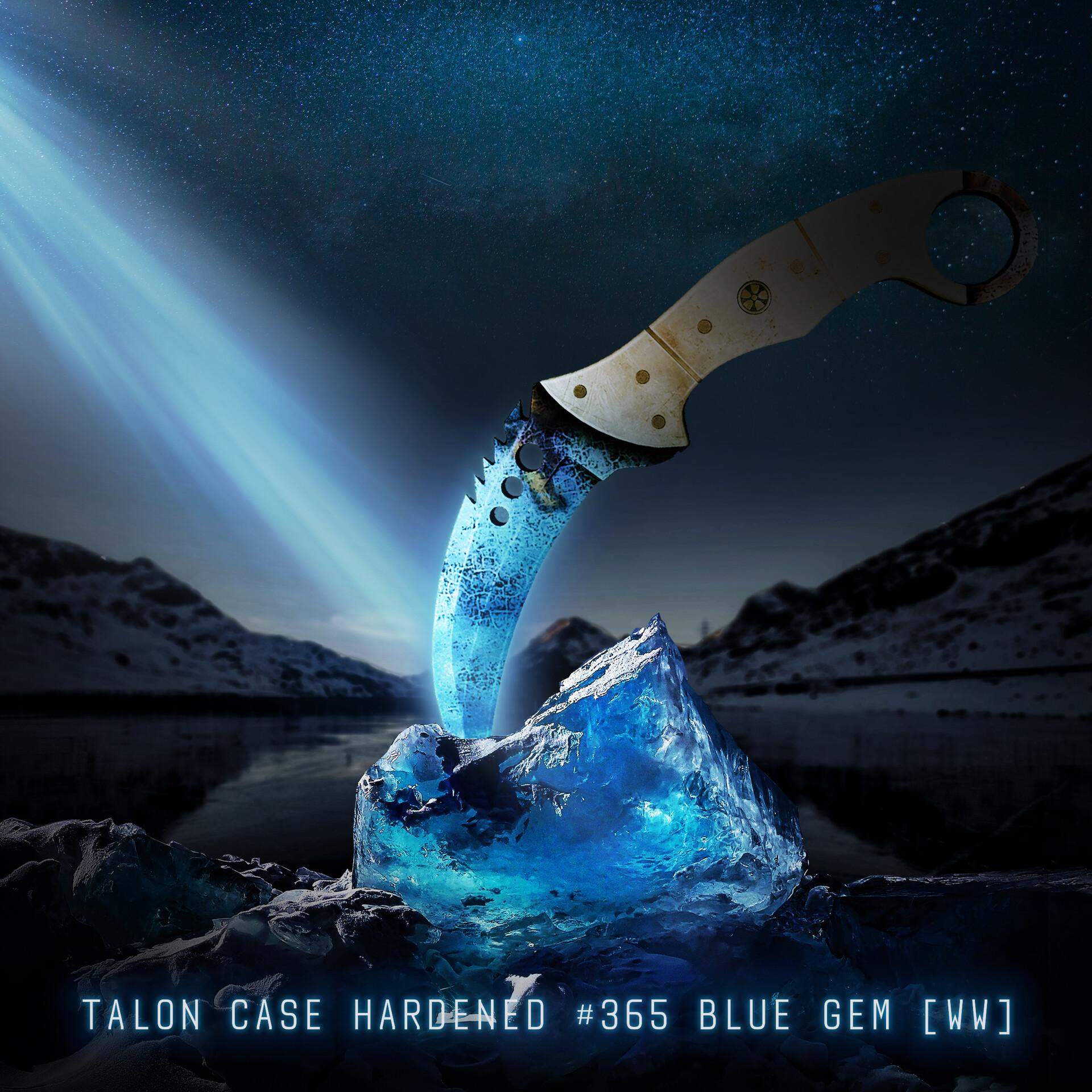 Csgo blue gem huntsman