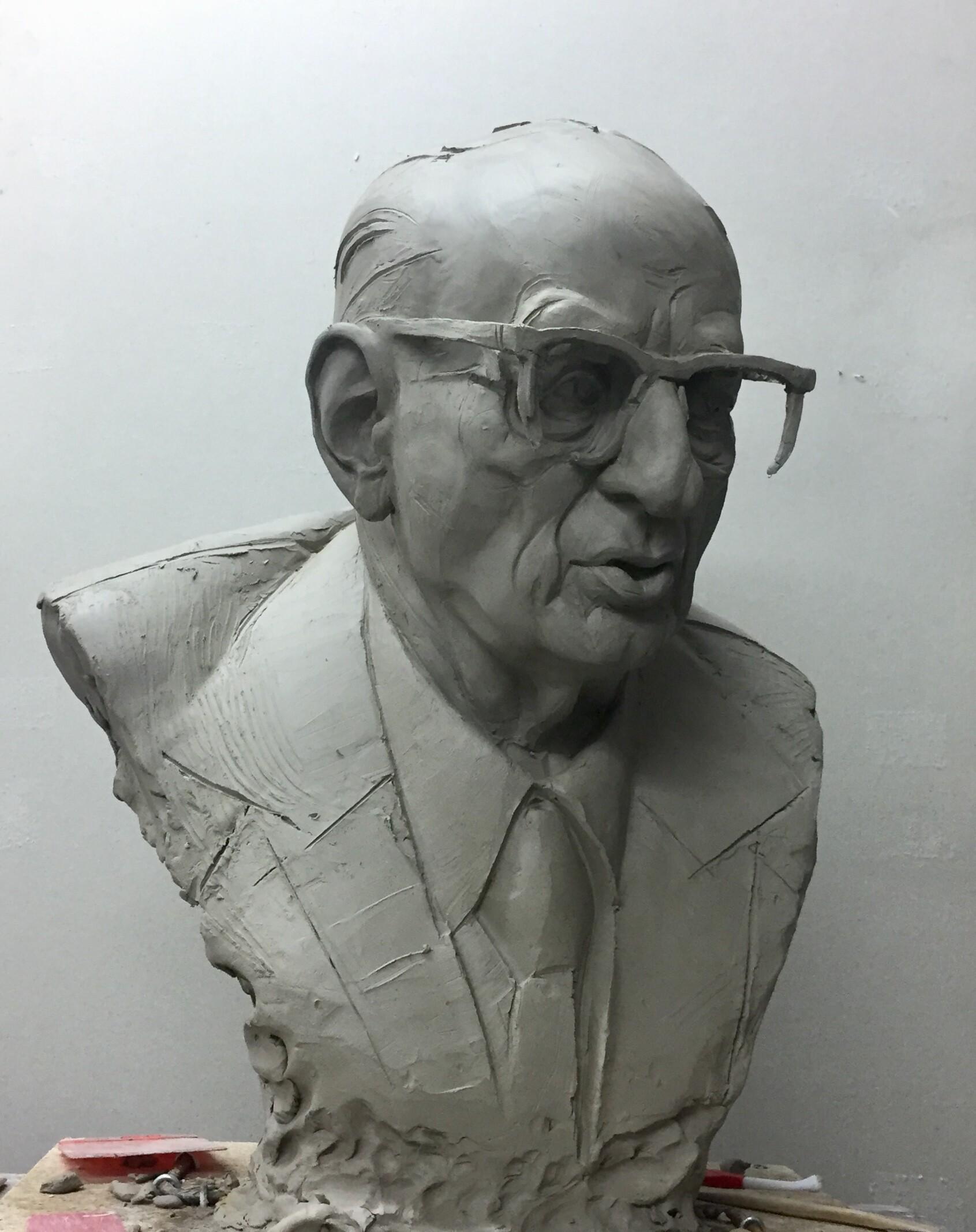 Monument of Władysław Bartoszewski/ concept