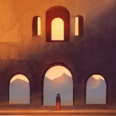 Nele diel sunset silence