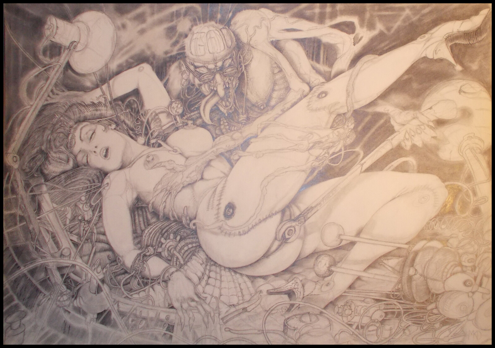 Photo of pencil Art.