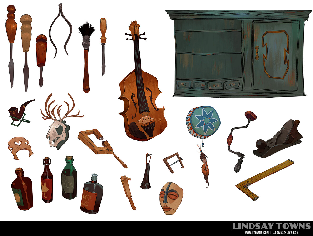 Violin Workshop- Props