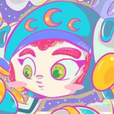 Kellie funderburk space moon color