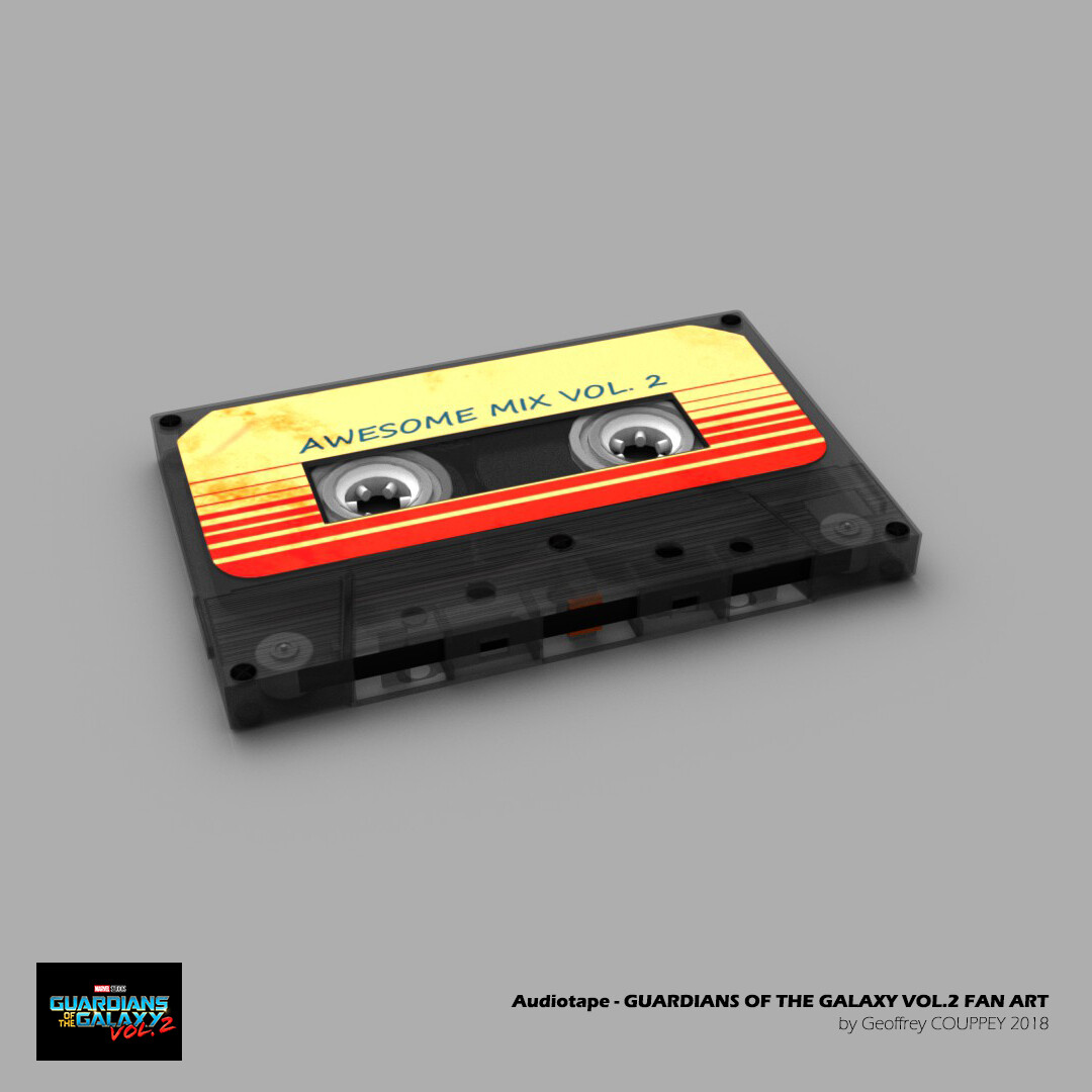 Audiotape - Awesome Vol.2 Guardian of the Galaxy Fan Art