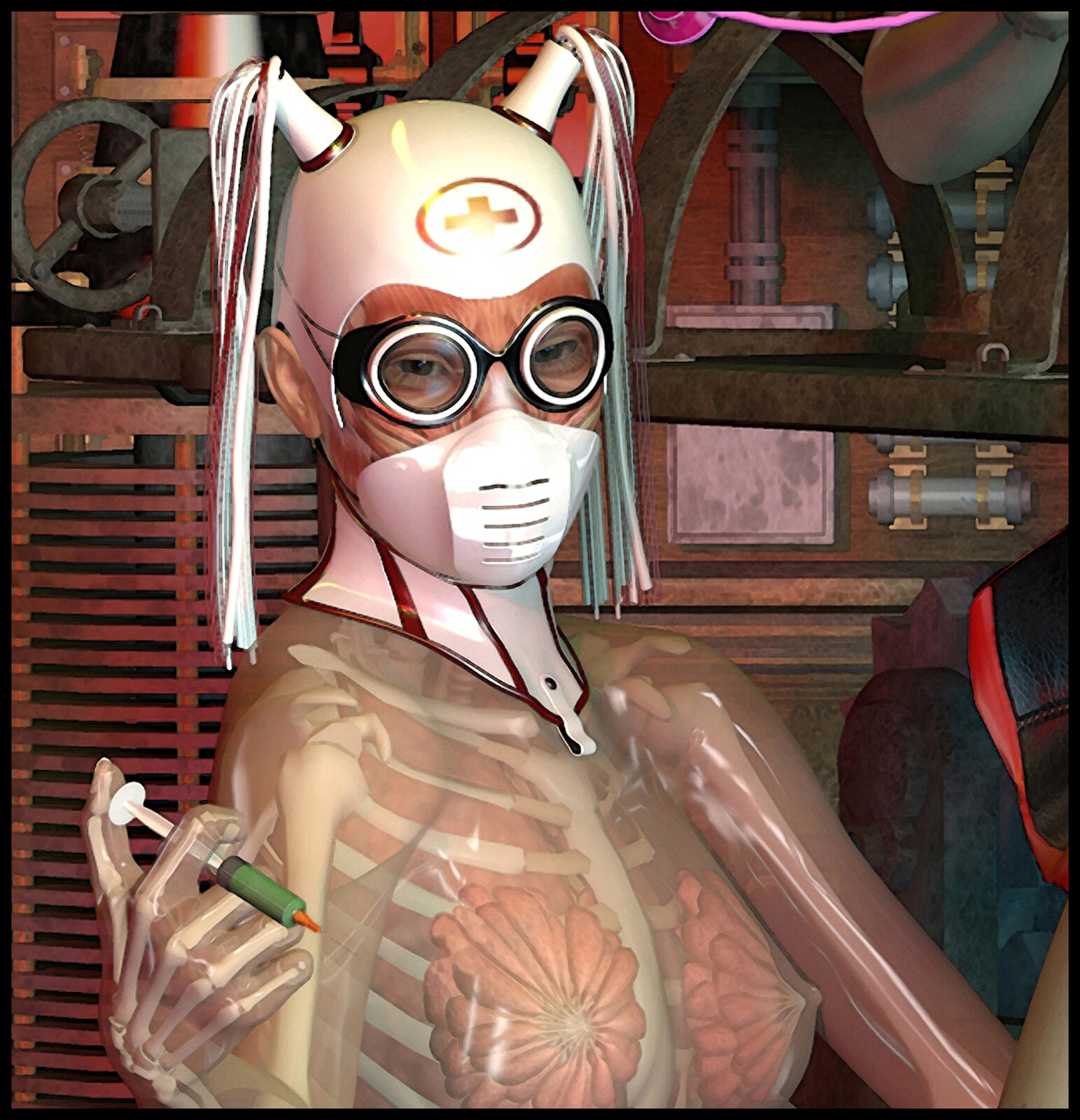 Cenobite Dakini Night Nurse of Chöd.