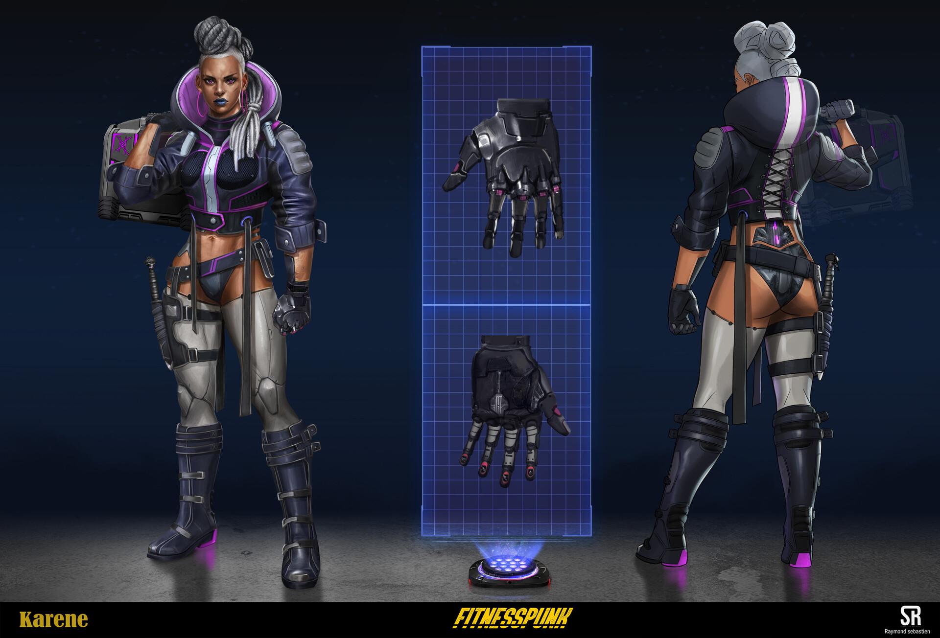 Karene final character design