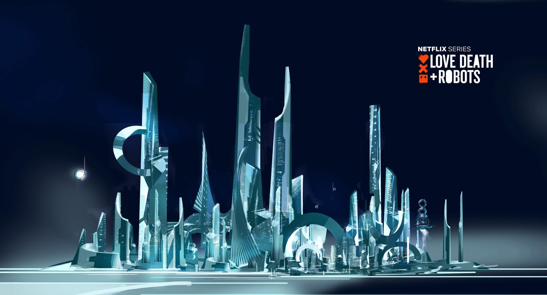 city concept stage glassy reborn
