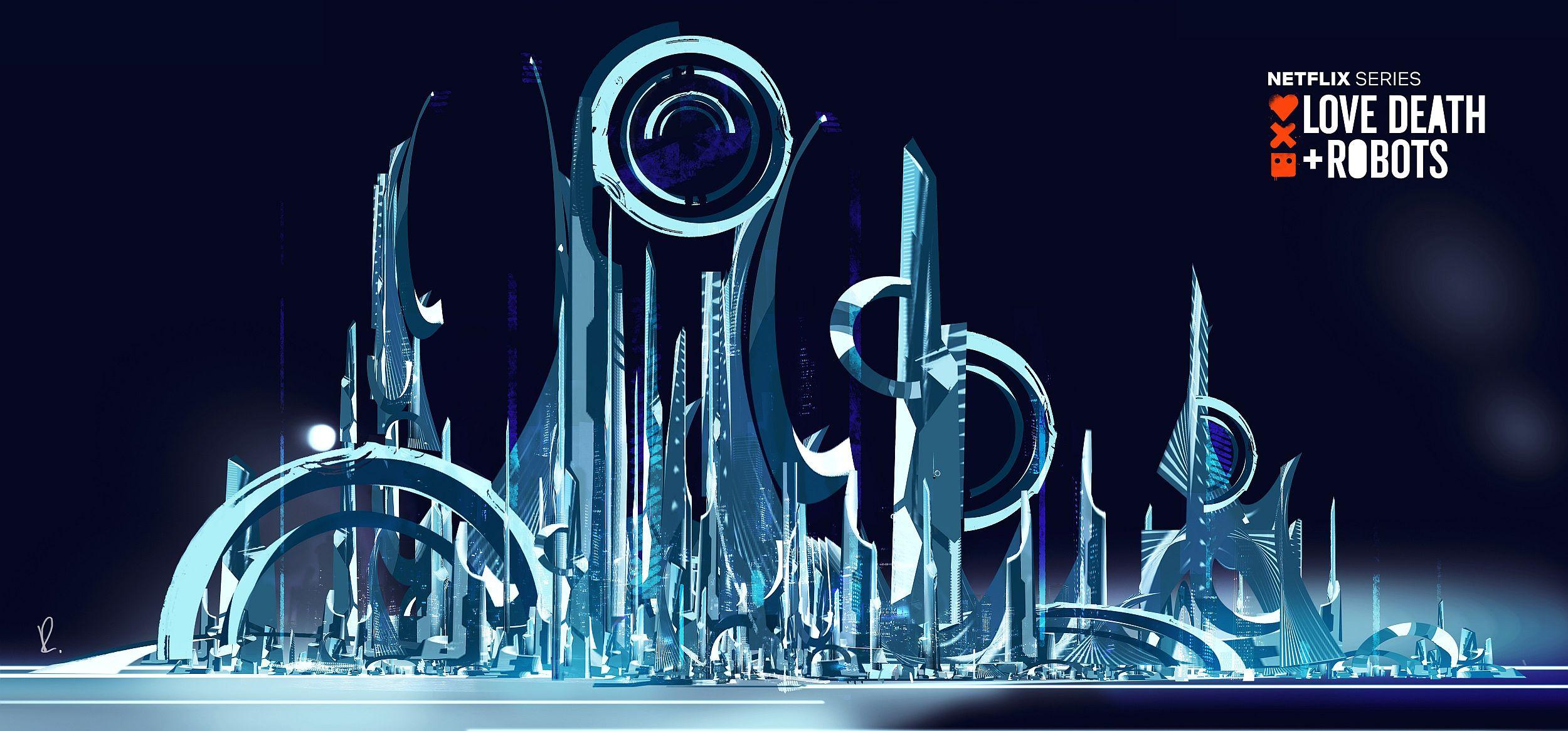 City concept evolution 2  - the eye idea