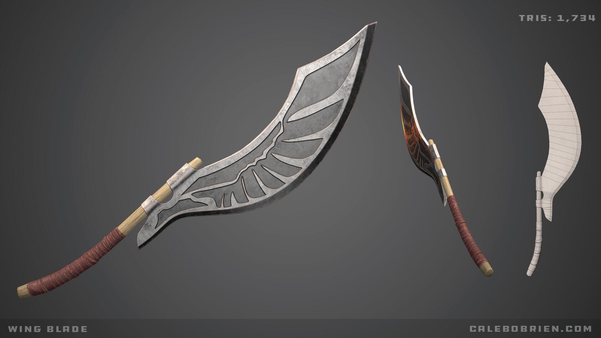 Caleb o brien wing blade
