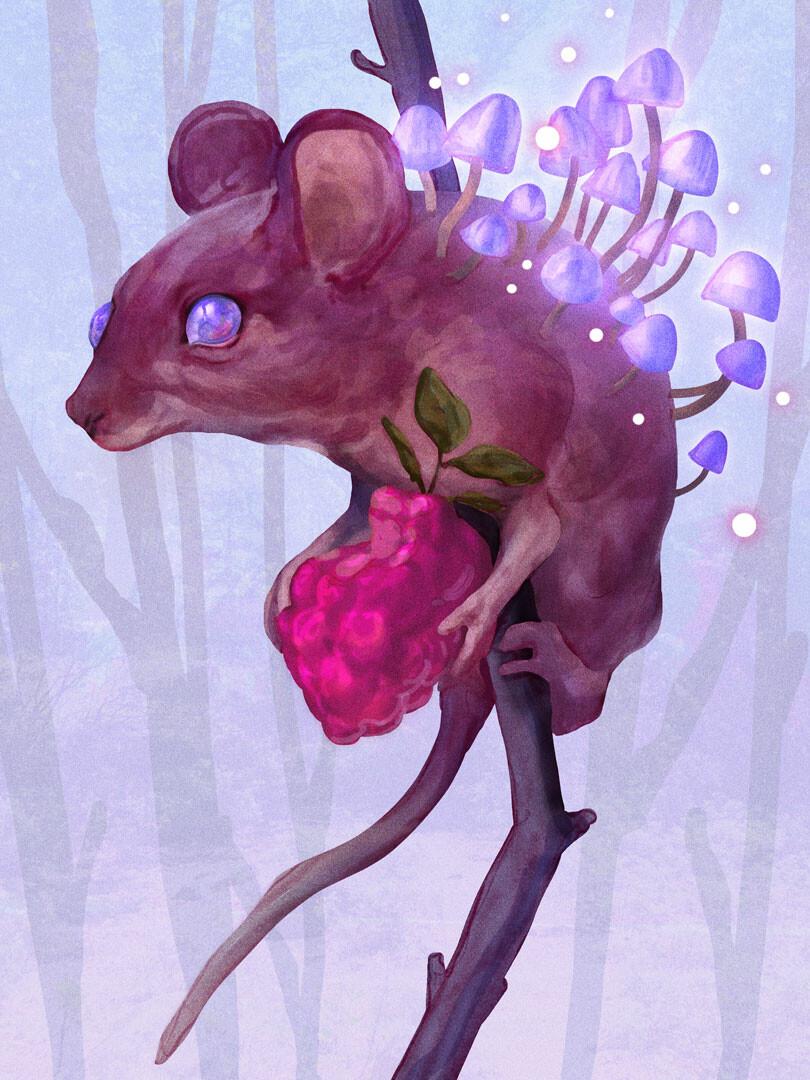 Madeline buanno mushroom mouse insta