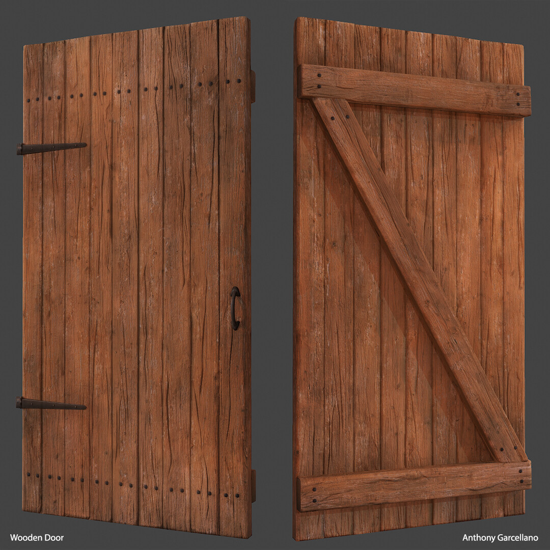 Anthony garcellano woodendoor1 anthonygarcellano