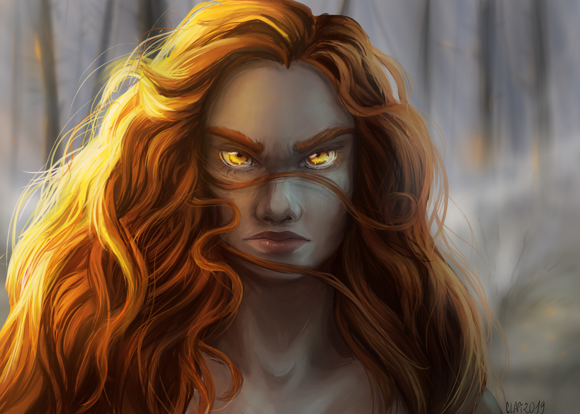 Claudia pistritto golden eyes 2 wip4