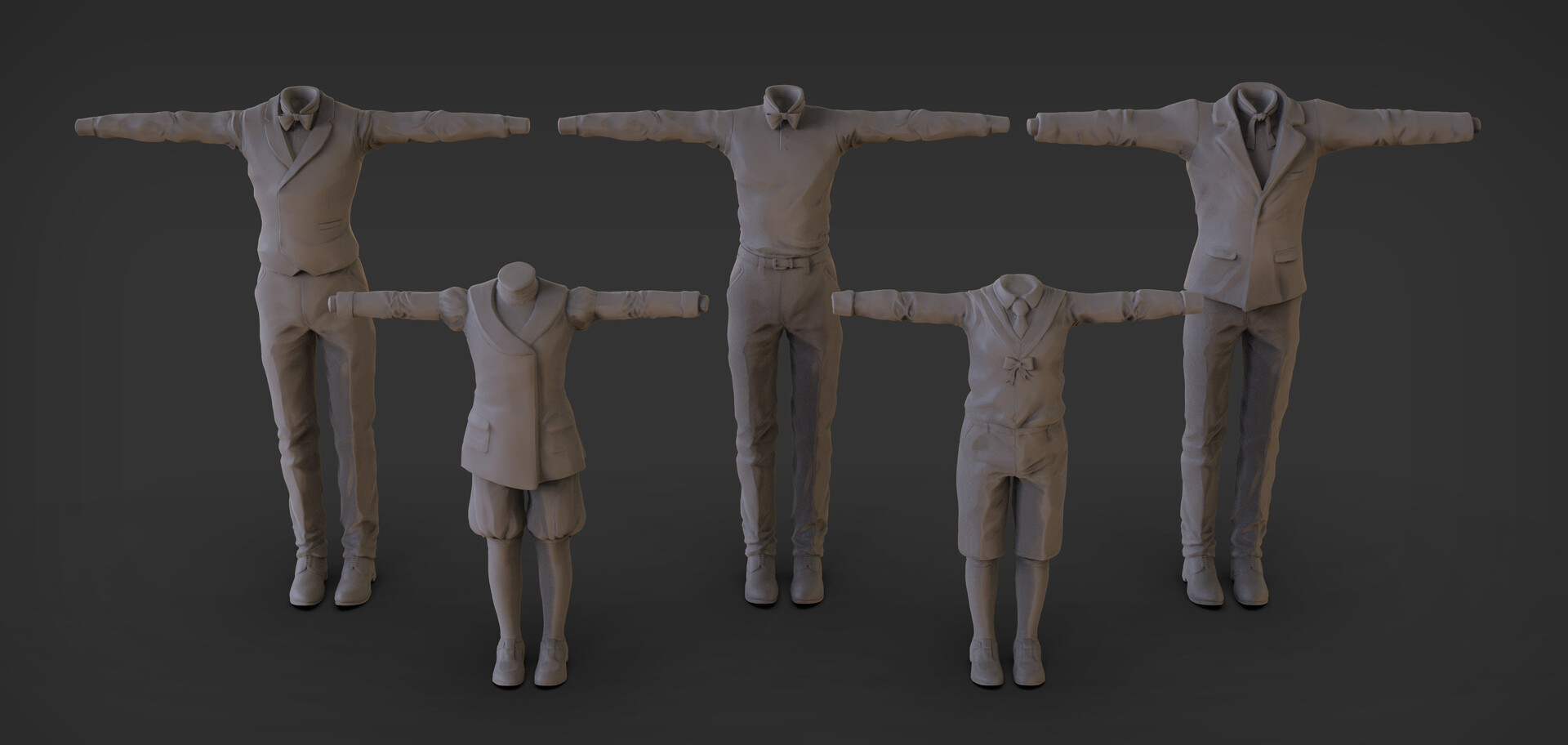 Some cloth sculpt
