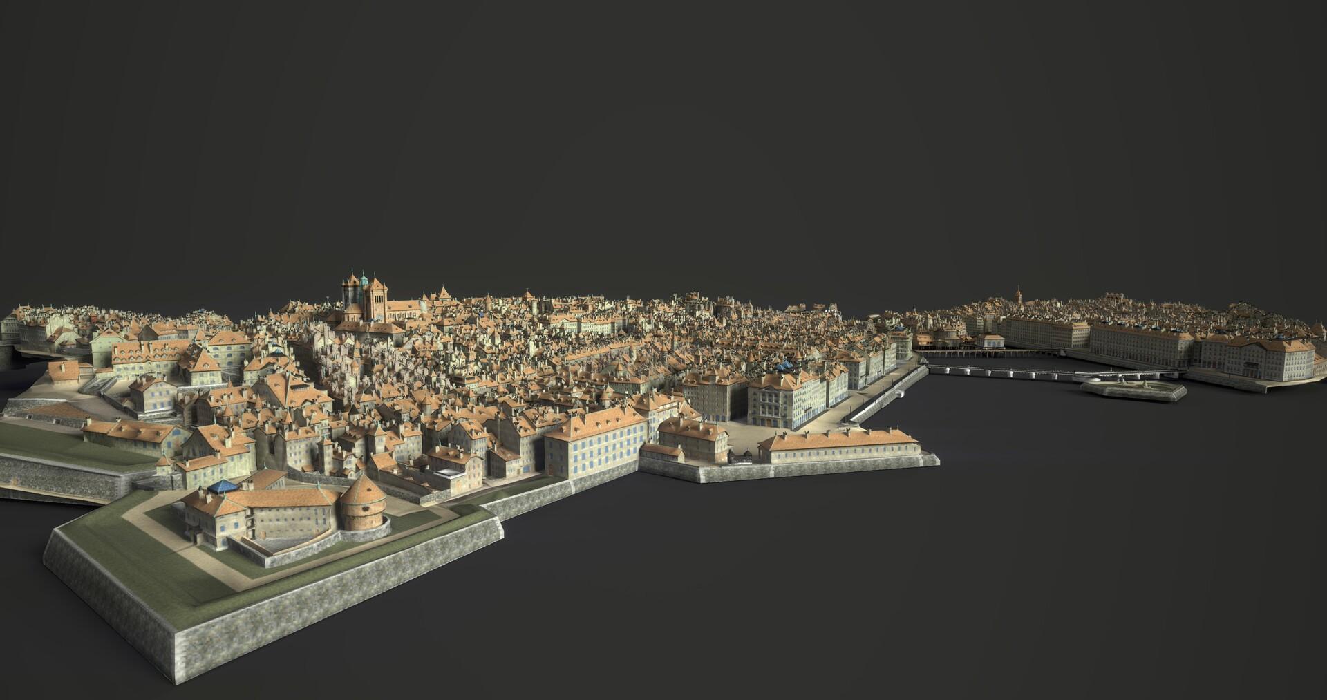 City from Manien arctitecture optimisation