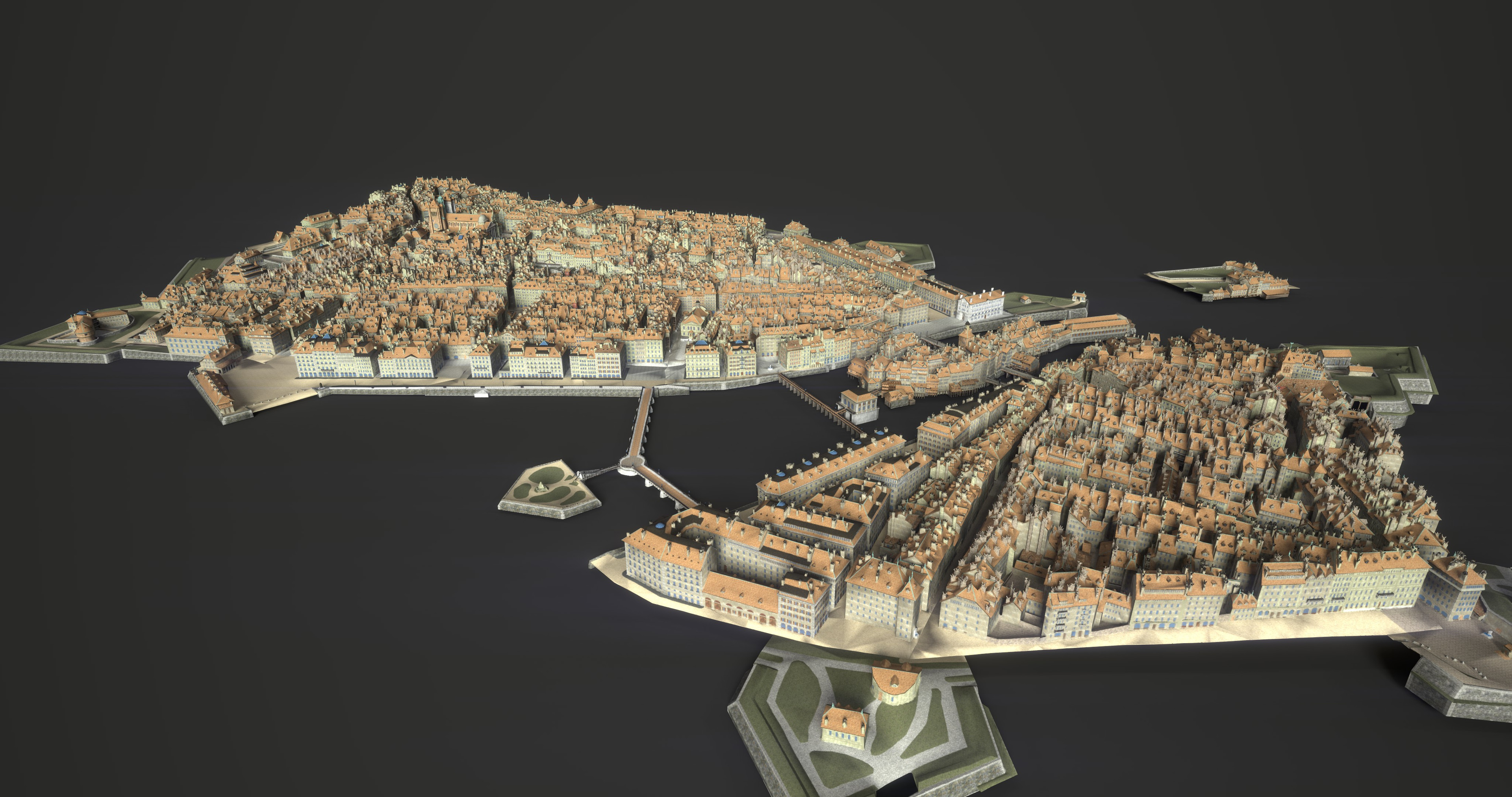 City from Manien arctitecture optimisation
