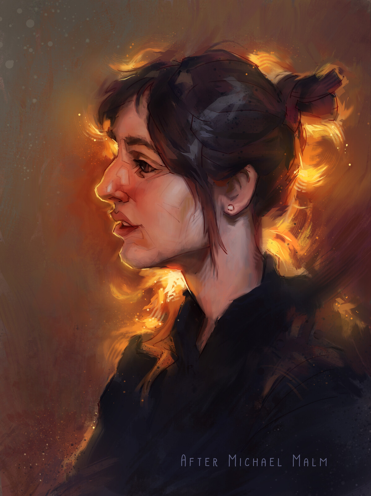 Michael Malm Portrait Study