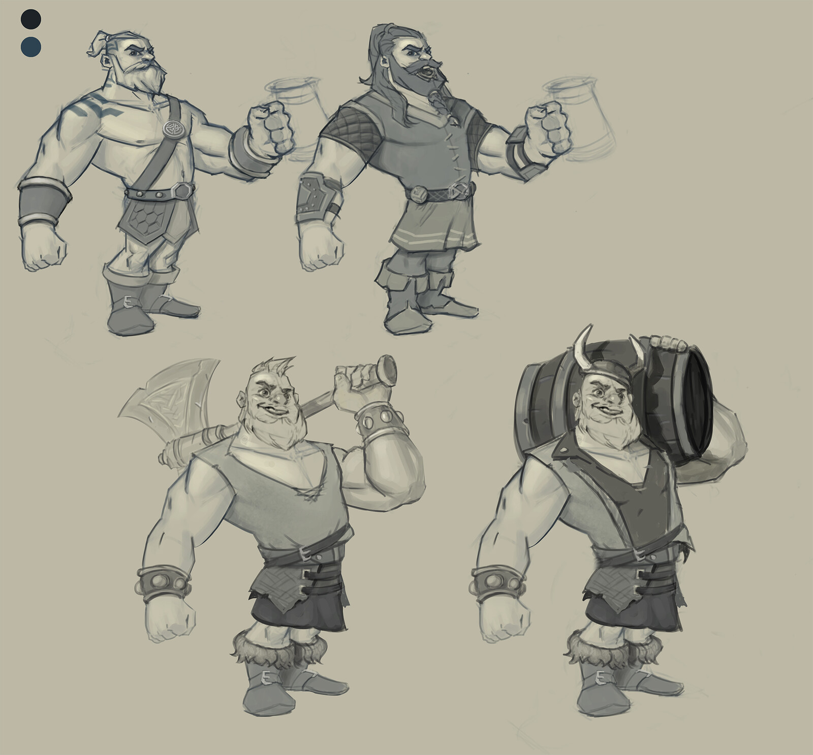 Viking rough concepts
