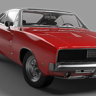 Dylan di dio charger render front