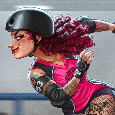Michael dashow rollergirl 01 final 1100x1100