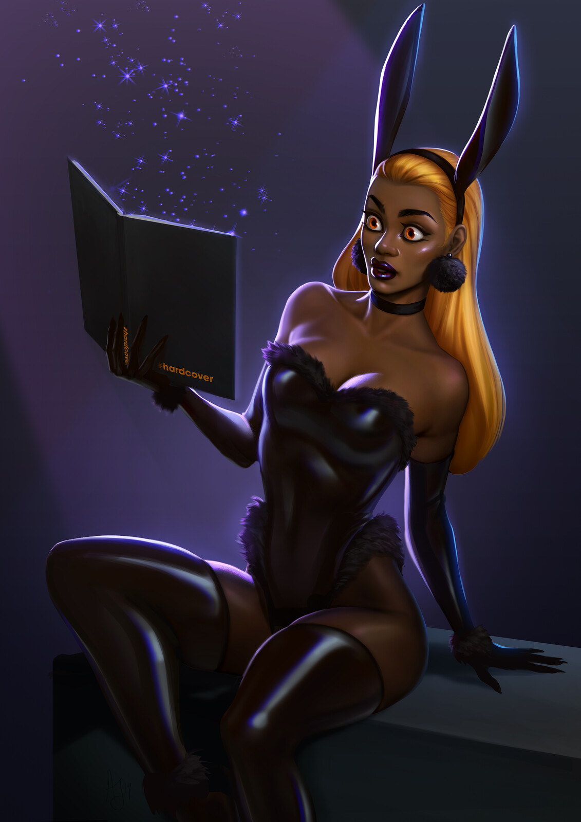 Hardcover Contest Pin-Up Bunny 2019