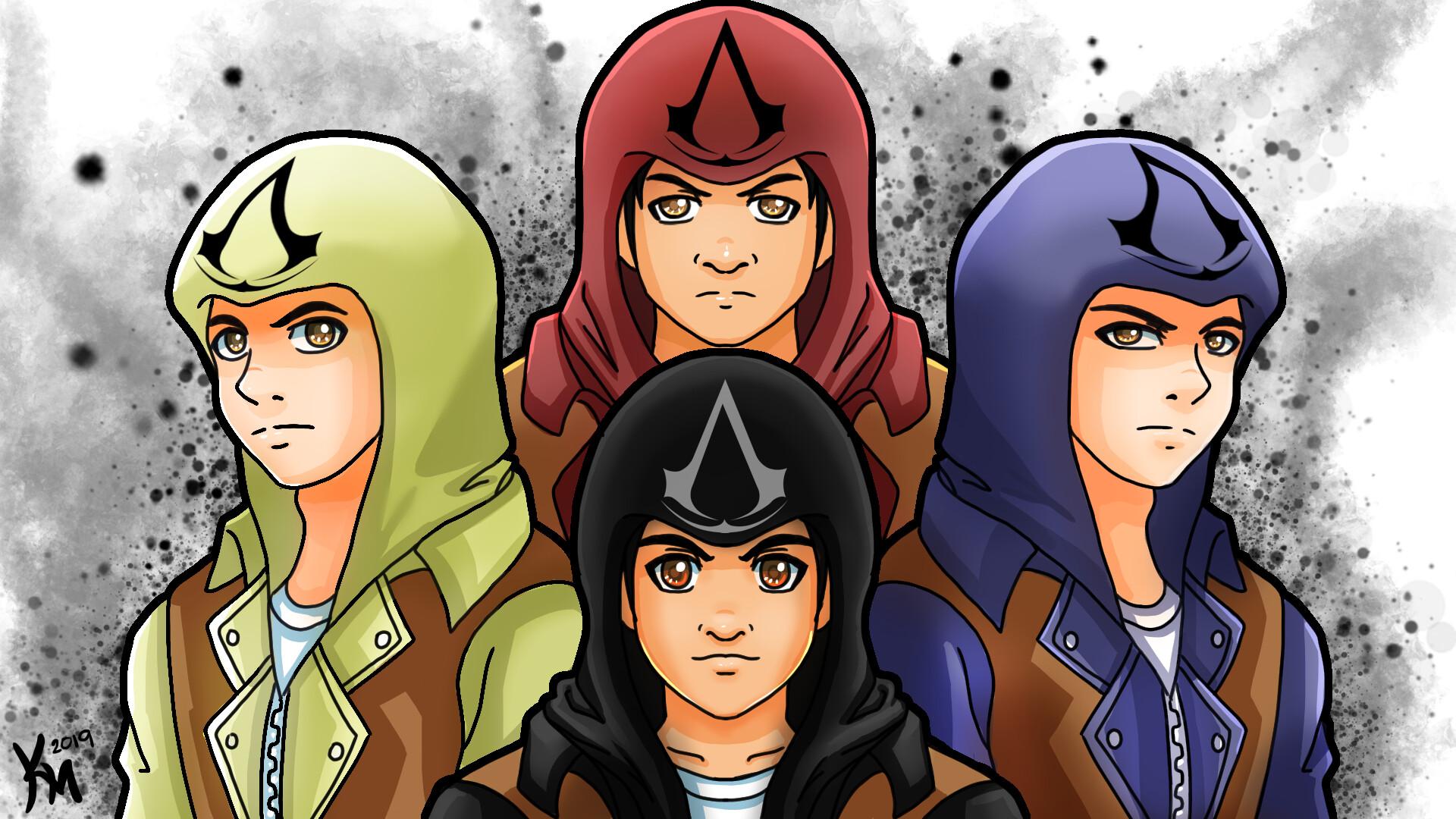 Artstation Assassin S Creed Unity Fan Art Kevin Edwin Mijares