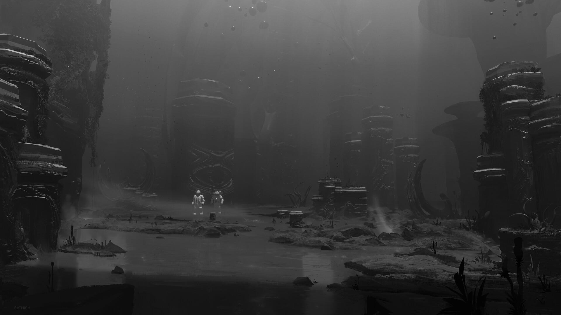 Sathish kumar alienworld exploration 01 bw