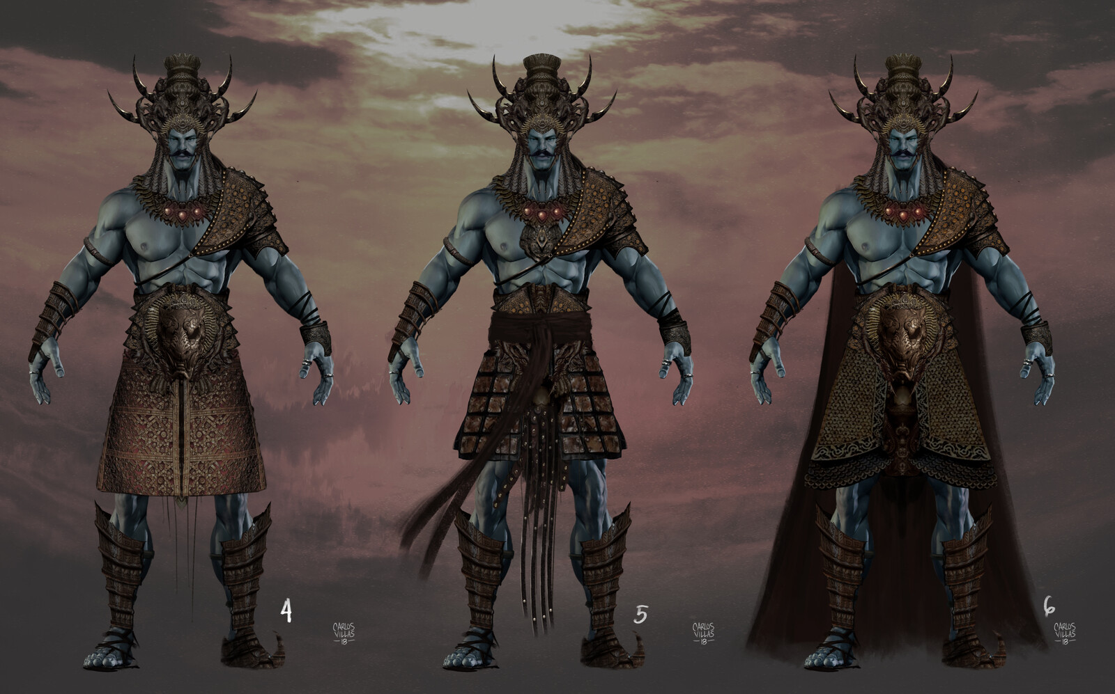 CHARACTER AND COSTUME DESIGN FOR MOVIE