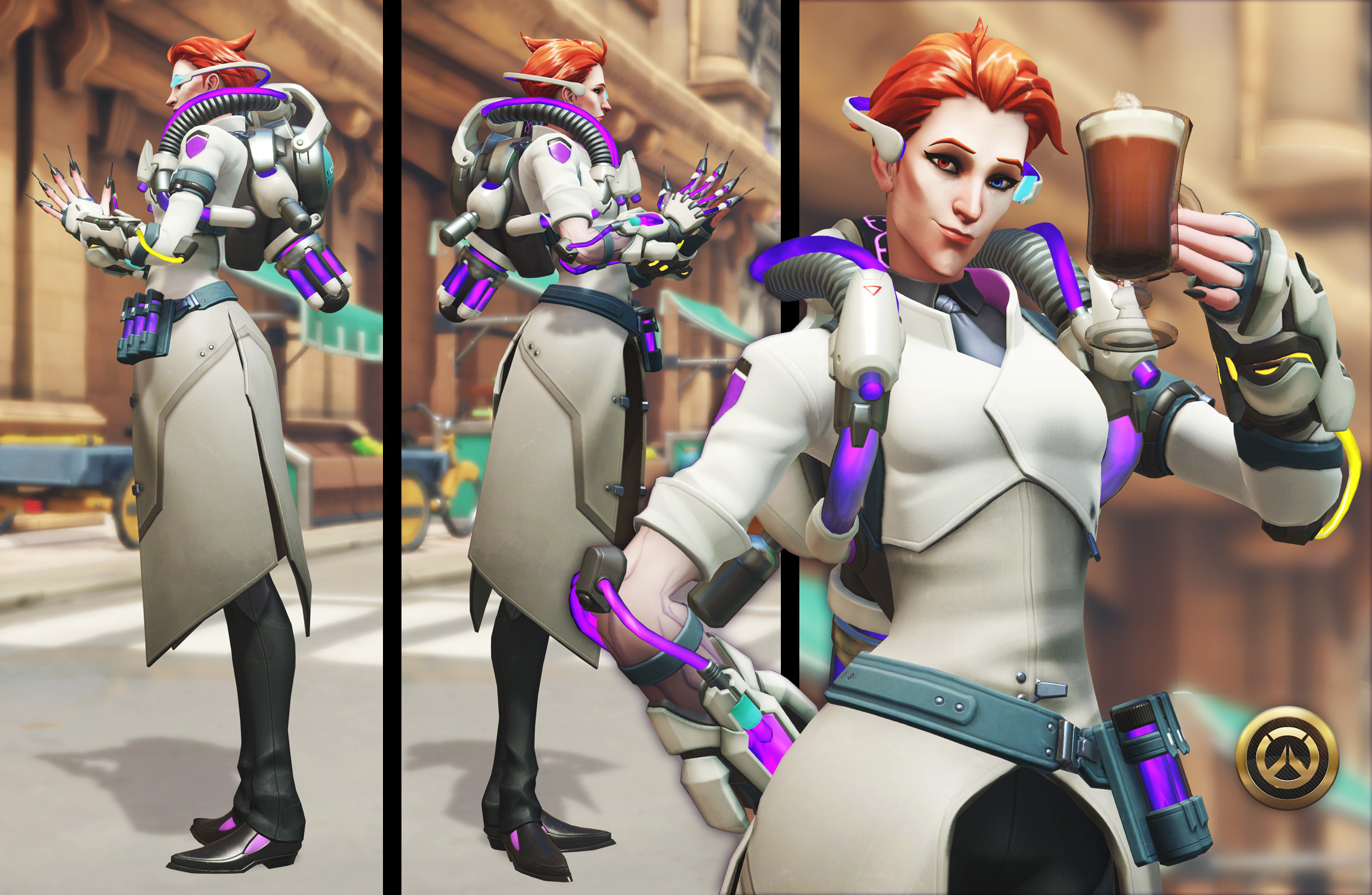 Scientist Moira  |  Overwatch Storm Rising 2019
