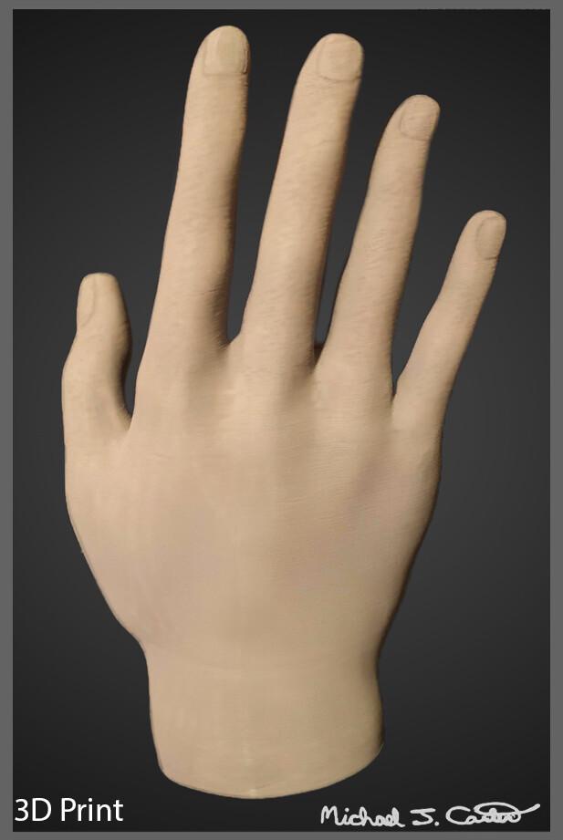 Michael jake carter human hand back