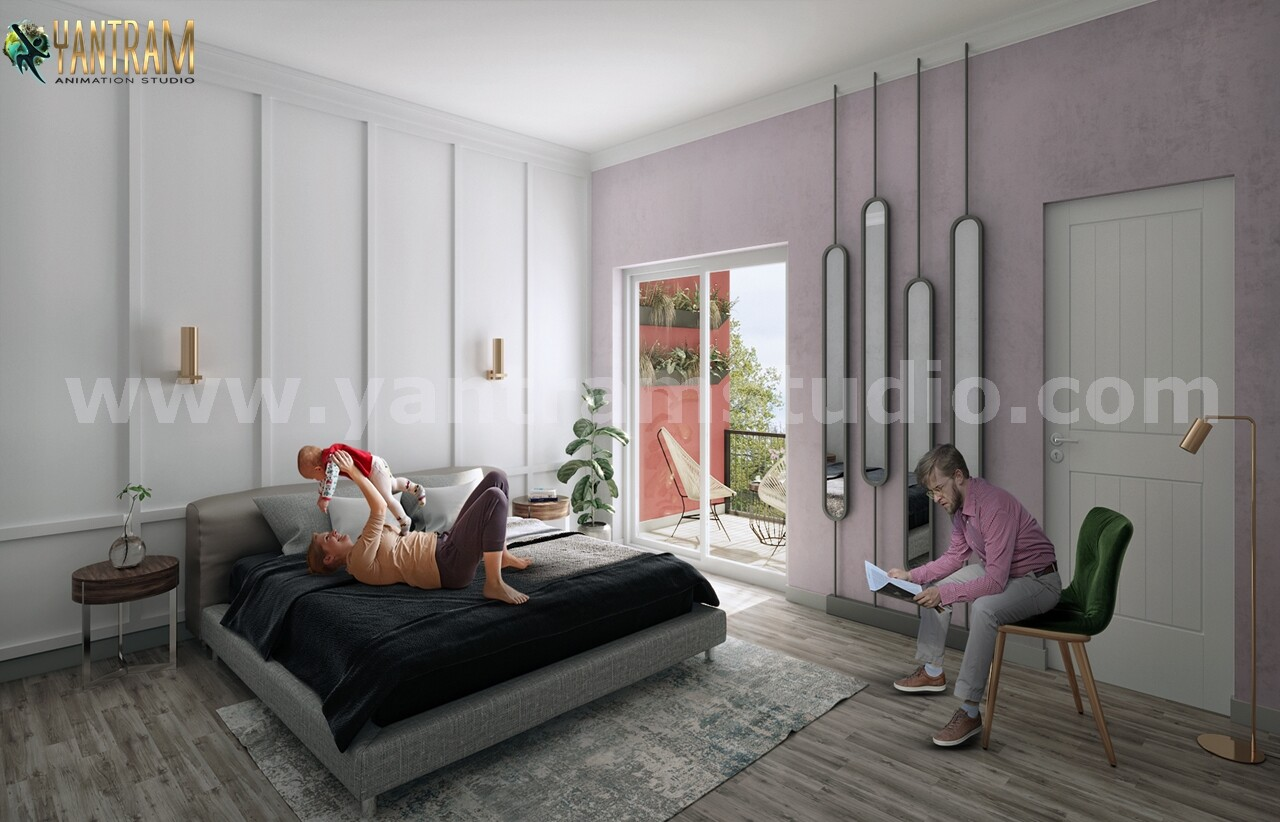 ArtStation - Modern Master Bedroom ideas of Interior Design Firms by ...