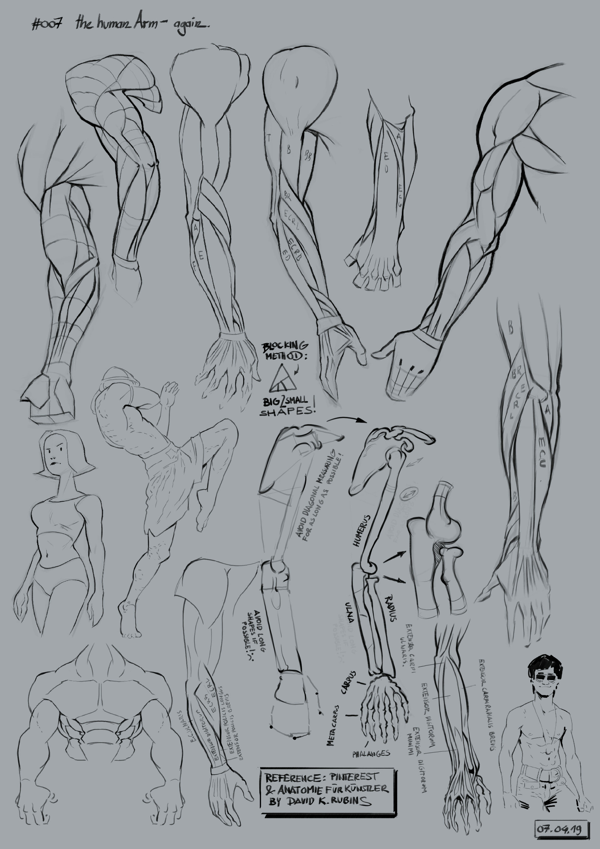 Warm up Sketches