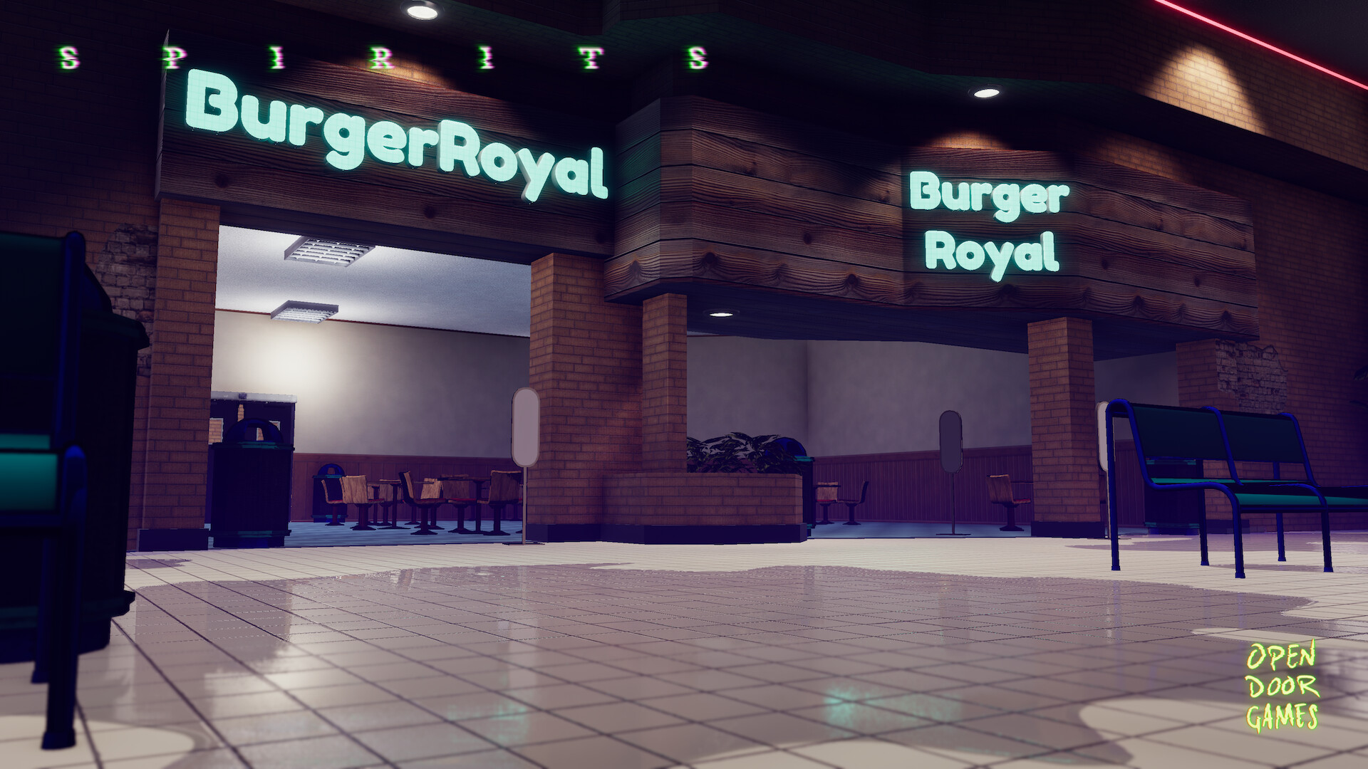 Burger royal is a throwback to classic 80's Burger King
