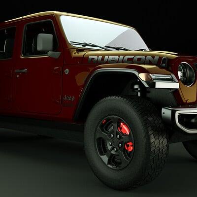 Fernando baez jeep gladietor 1