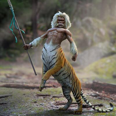 Joshua cairos jungle centauride colornormal