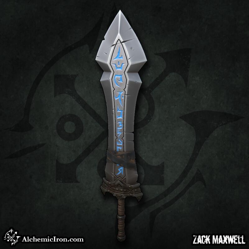 Zack maxwell rune sword