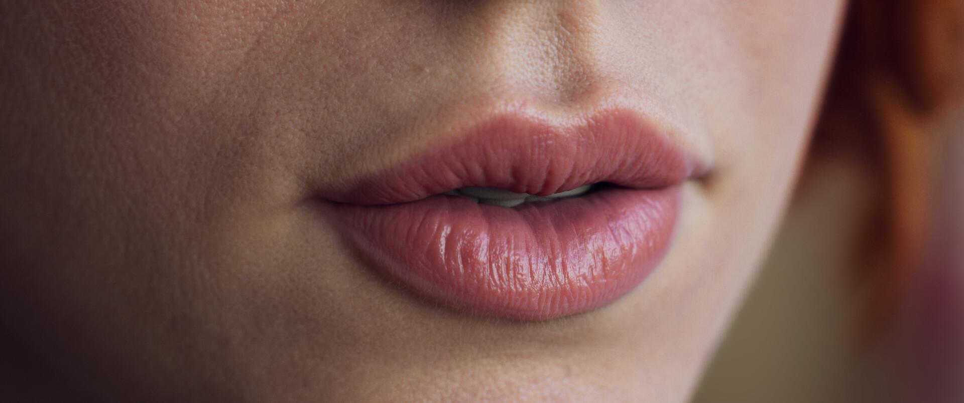 Abdelrahman kubisi lips closeup