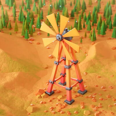 Oren leventar wind mill