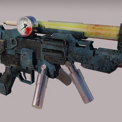 Morgan allen gun render