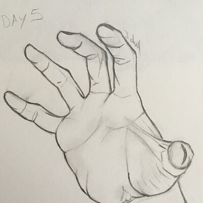 Jessica chell day 5 hand