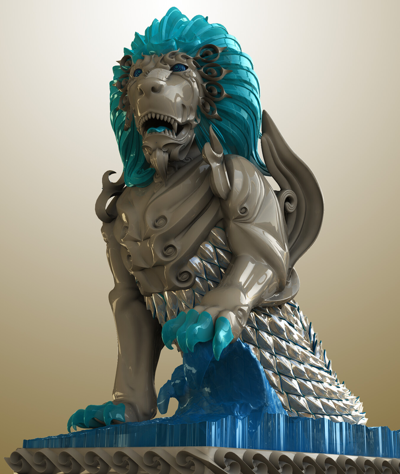 """""""The Guardian of Land and Sea"""""""