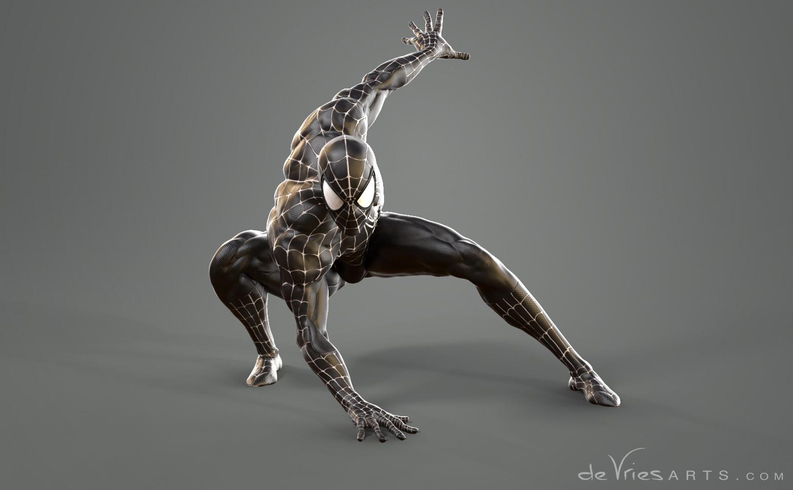 Thijs de vries crawling spiderman thijsdevries devriesarts